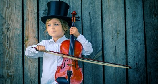 4. Струнный концерт для малышей «Любимые мультфильмы»