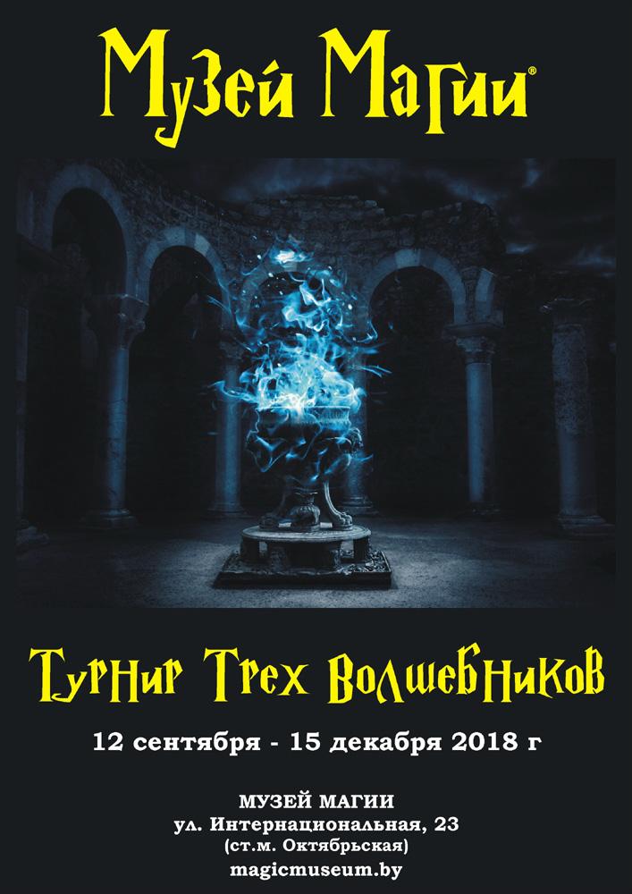 Интерактивная выставка «Турнир Трёх Волшебников». Афиша на выходные